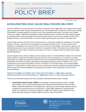 Free Policy Brief Template Fill Online, Printable, Fillable