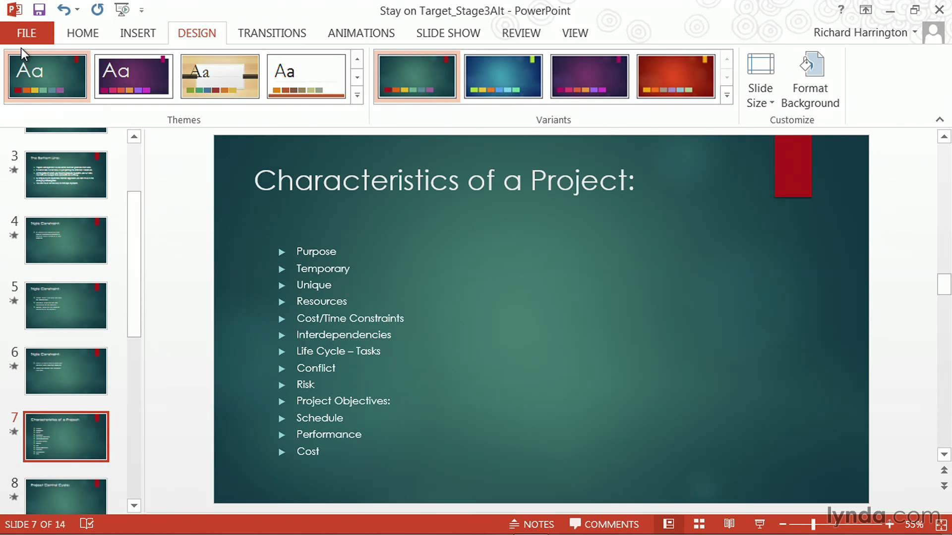 PowerPoint tutorial: How to change templates and themes | lynda