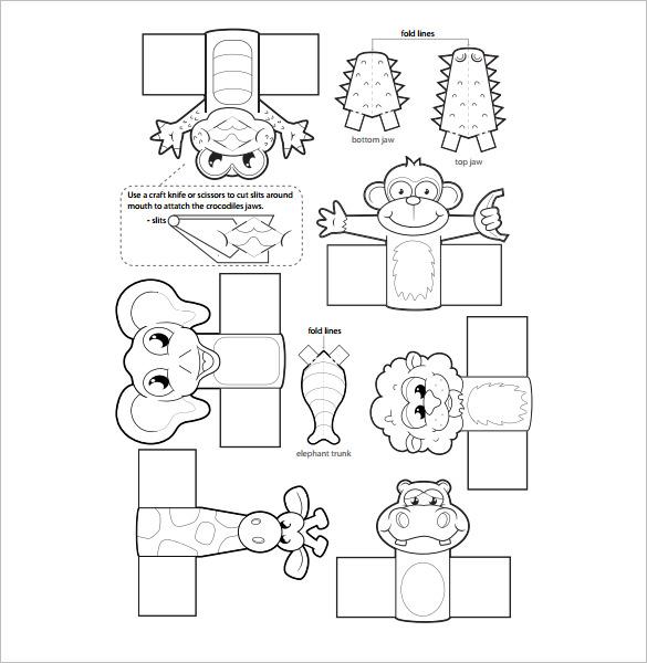 cinderella puppet template   Animals   Pinterest   Puppet