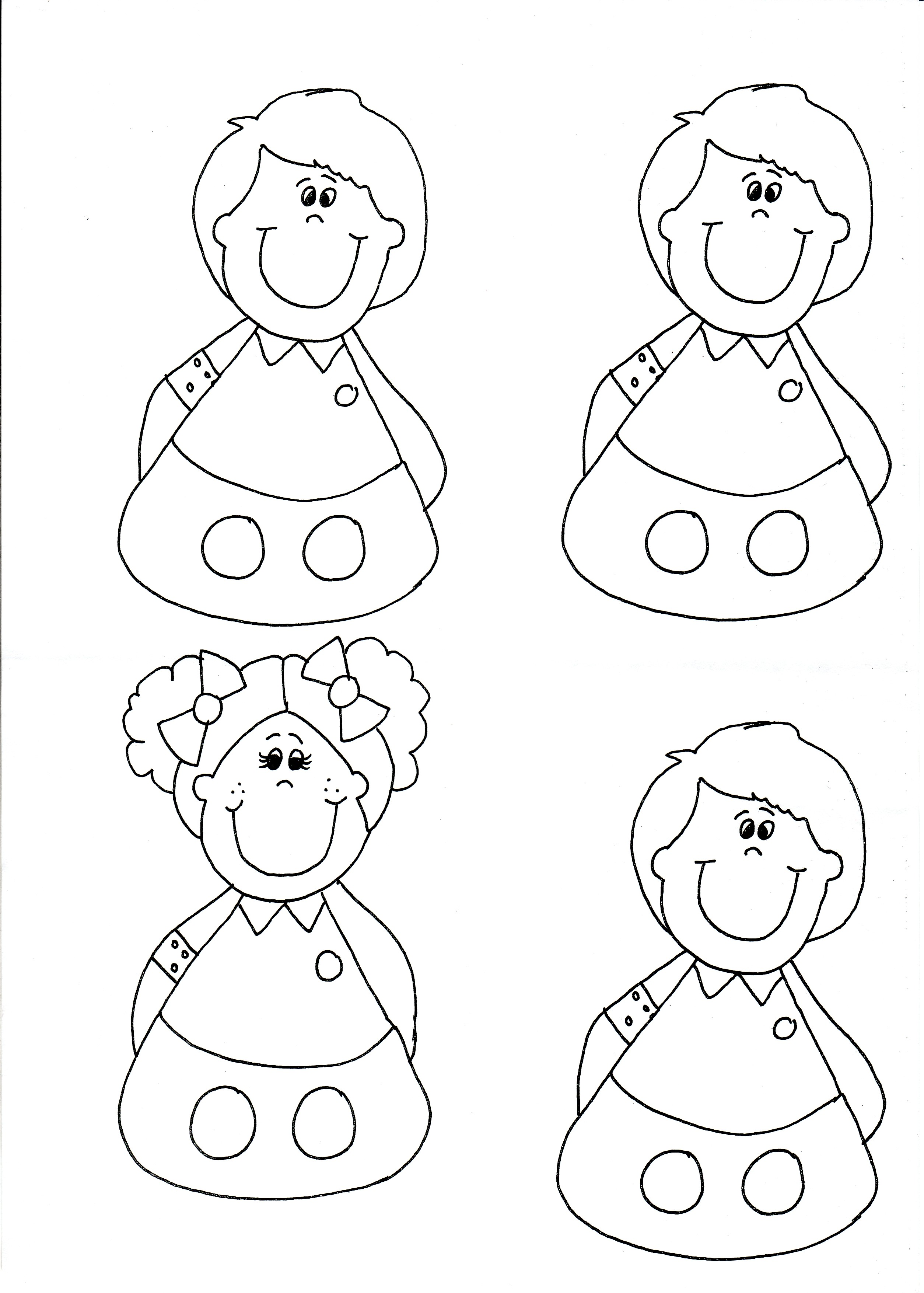 finger puppet template April.onthemarch.co