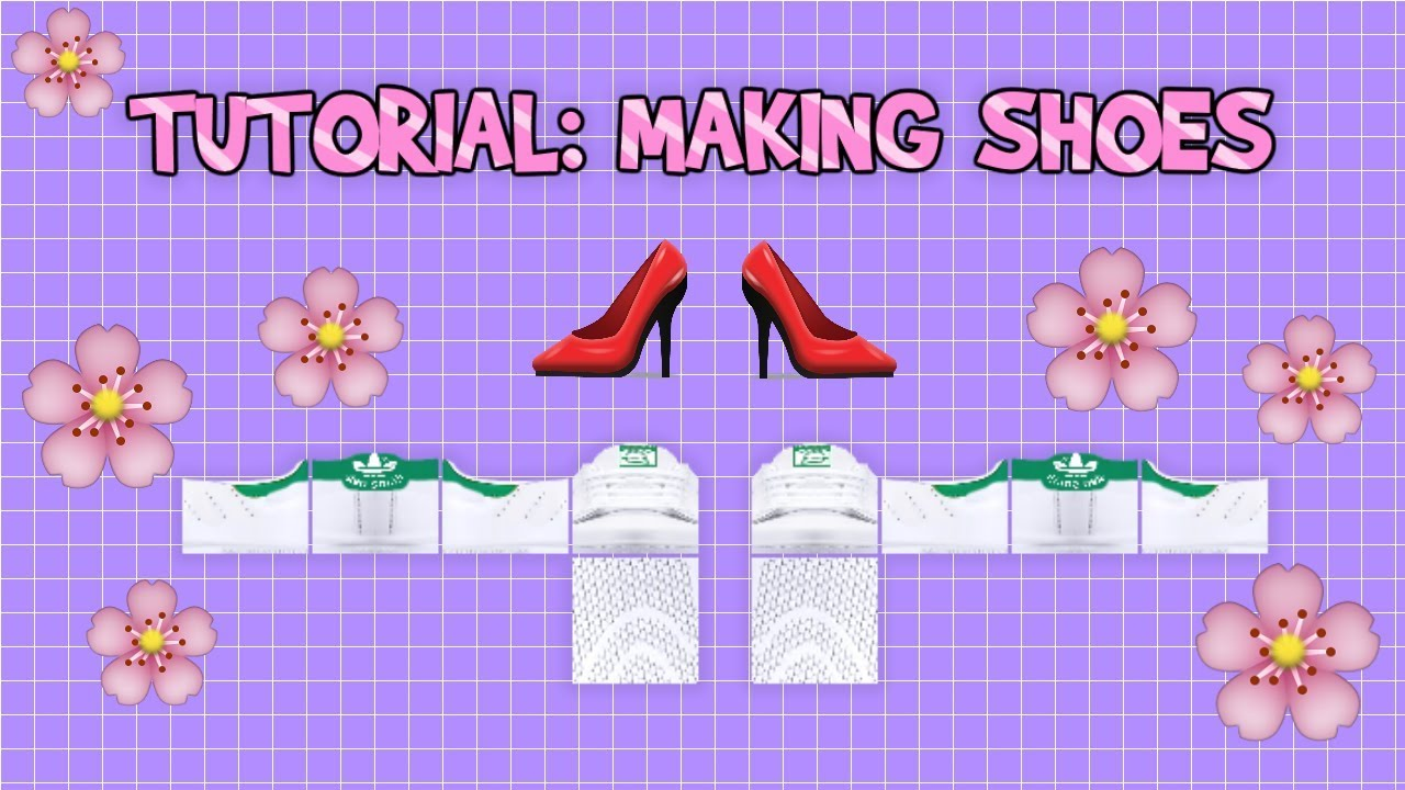Roblox Clothing Tutorial: Making Shoes YouTube