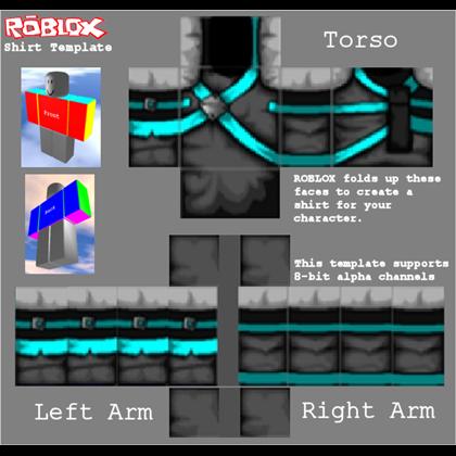 Blank Shirt Template Roblox