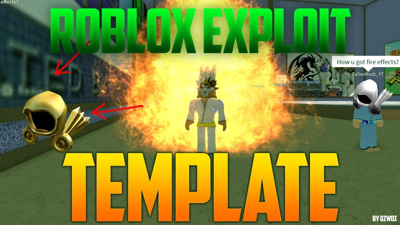 Roblox Clickbait Thumbnail/Template HaloApplePie