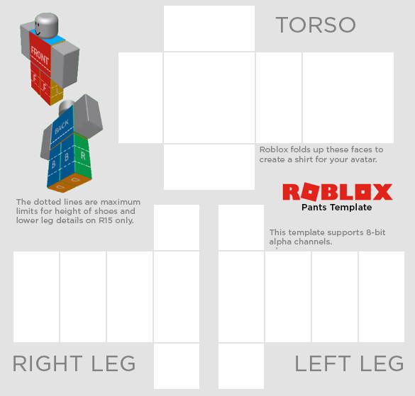 roblox transparen shirt template