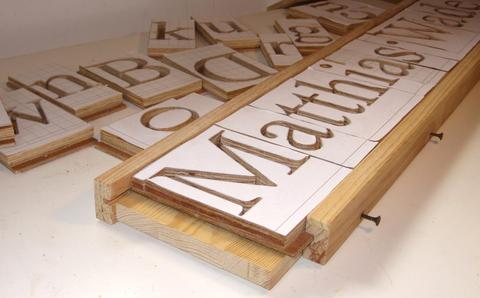engraving letter templates 3d pantograph router stencil tracing