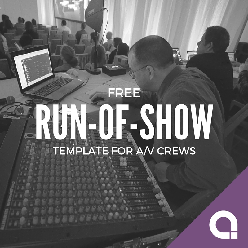 run of show template April.onthemarch.co