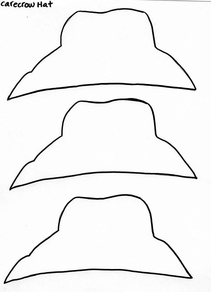 25 Images of Paper Scarecrow Hat Template | infovia.net