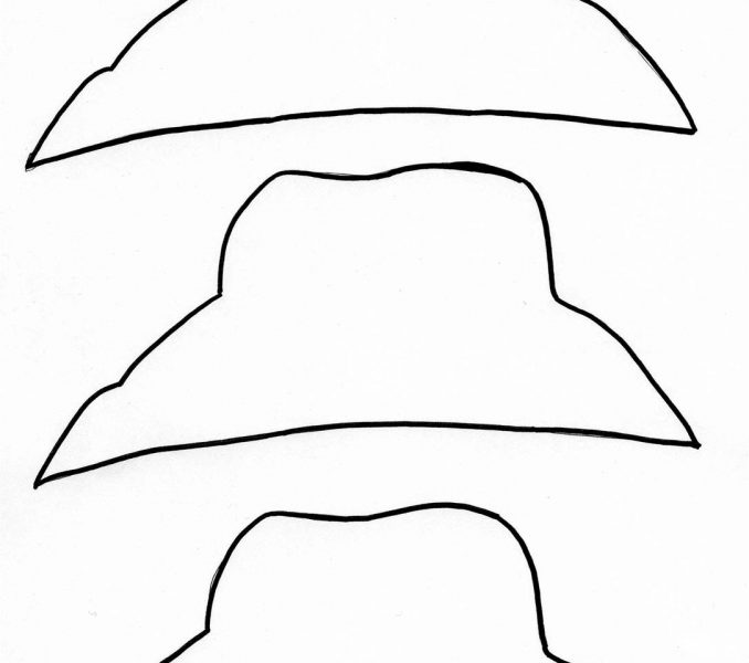 26 Images of Scarecrow Hat Template For Trace | crazybiker.net