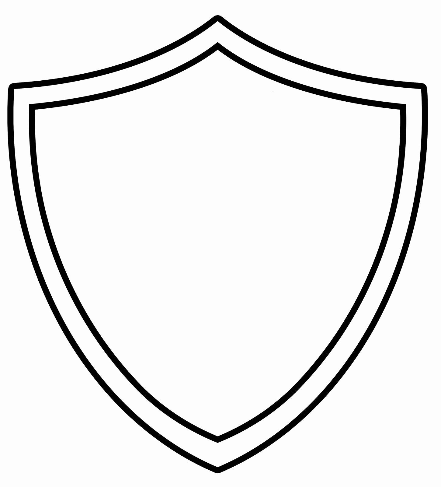 Shield Template 288 Clip Art at Clker. vector clip art online