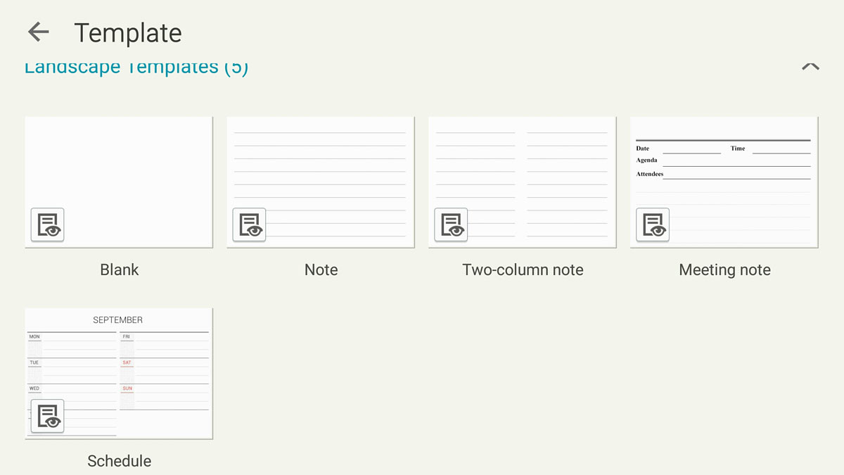 All new Samsung S Note templates | Mobilesurfers