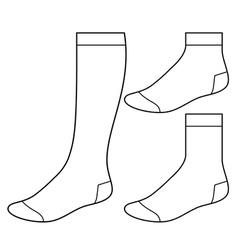 photograph about Sock Template Printable identified as Sock Template