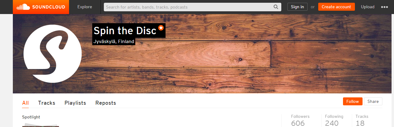 I made you guys a PSD template for the new SoundCloud profile page