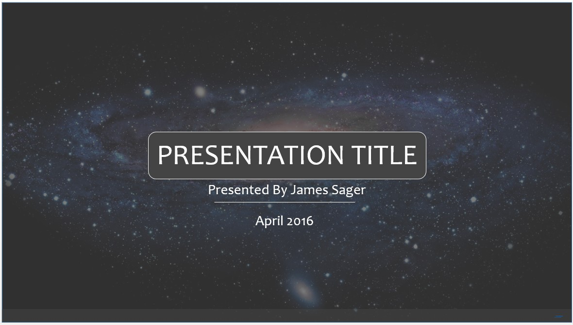 29 Images of Space PowerPoint Template | leseriail.com