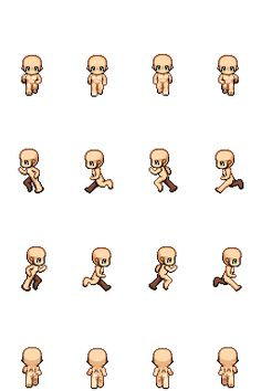 Sprite Template Animation OpenGameArt.2D computer graphics