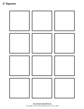 8 inch square pattern. Use the printable outline for … | Printable