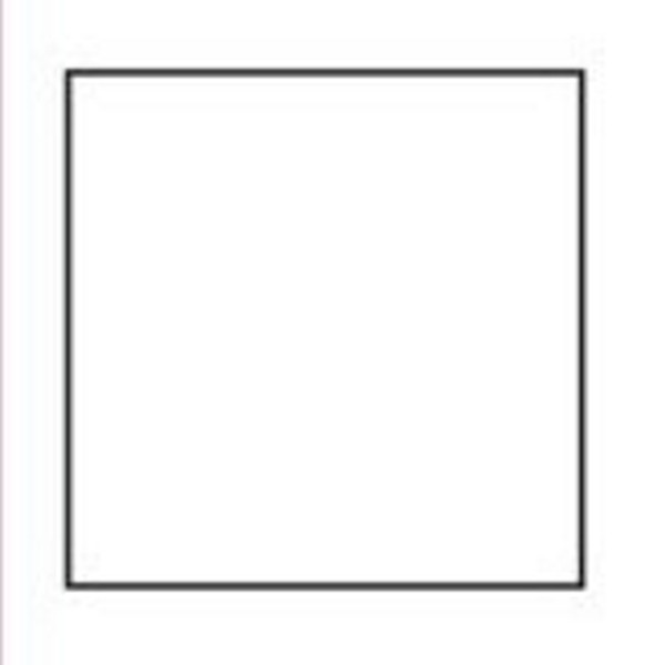 Square Templates | Blank Shape Templates| Free Printable PDF