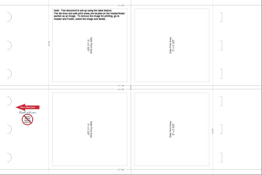 16 Printable Table Tent Templates and Cards Template Lab