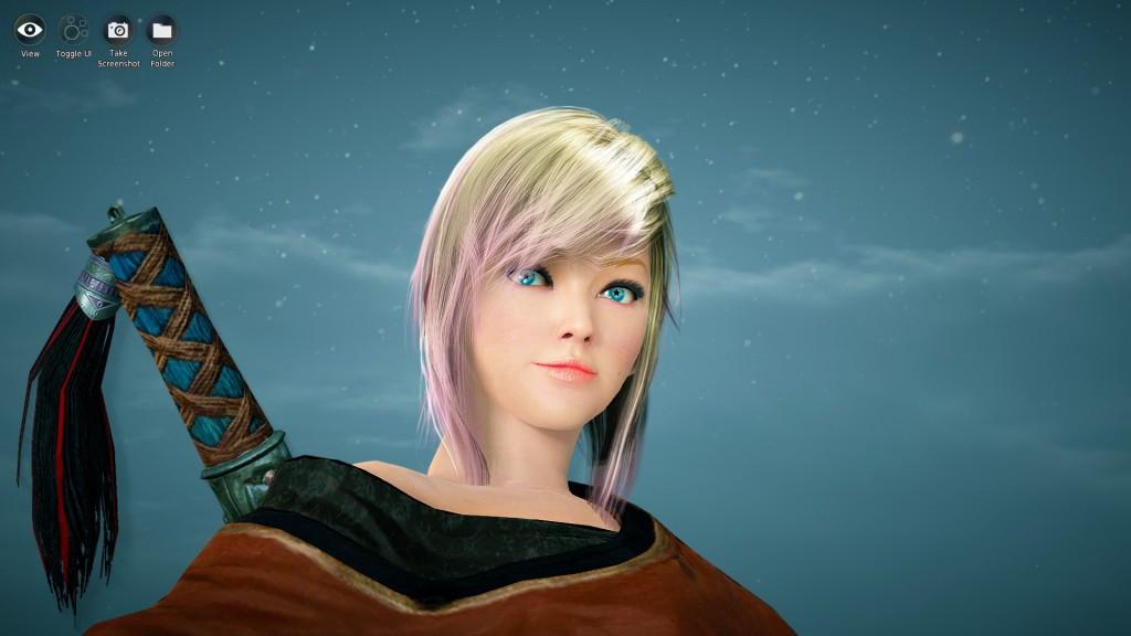 Cutie Blonde Tamer BDO Black Desert Online Character Template