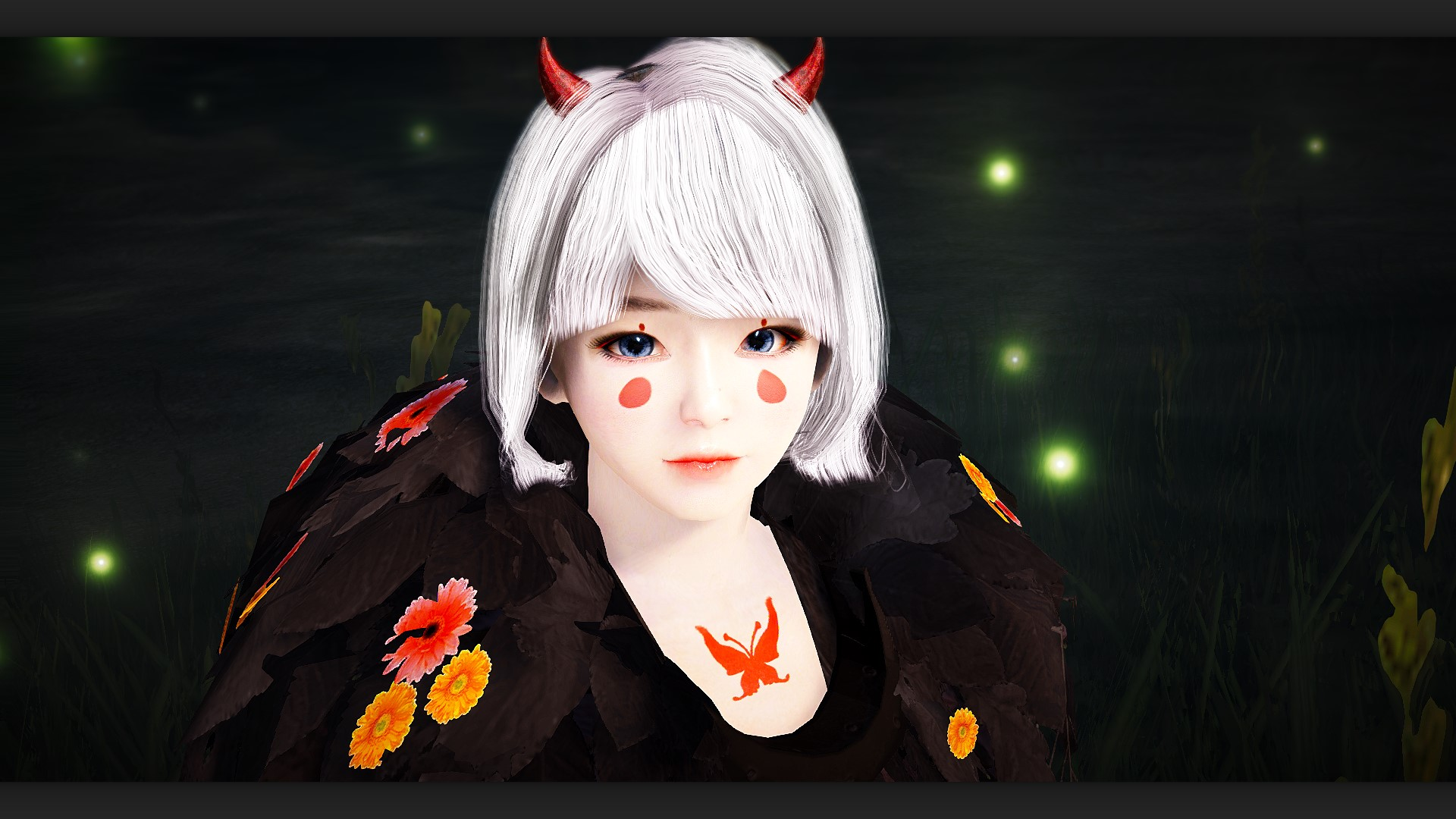Tall Brunette Elf Tamer BDO Black Desert Online Character Template