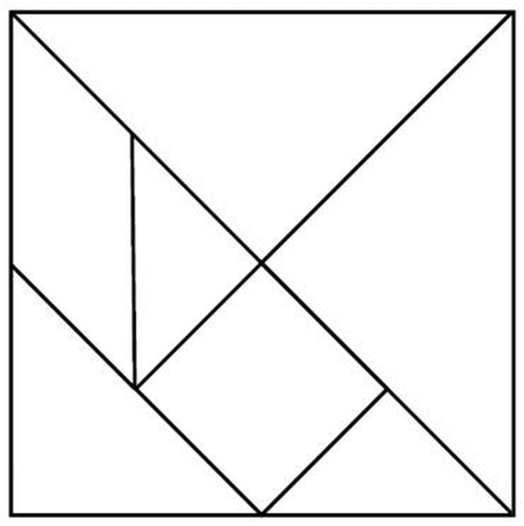 Tangram Rubric with Tangram Template by themommyteacher | TpT