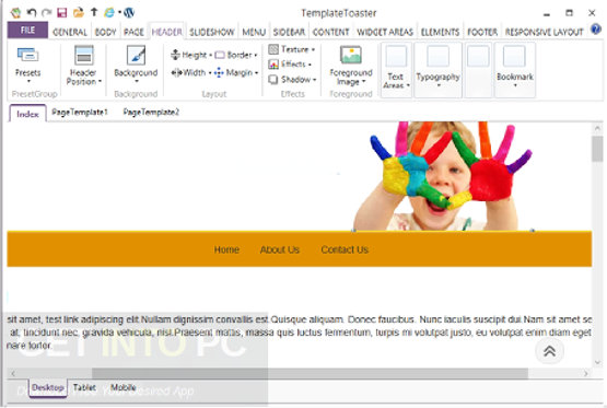 templatetoaster web design software activation key
