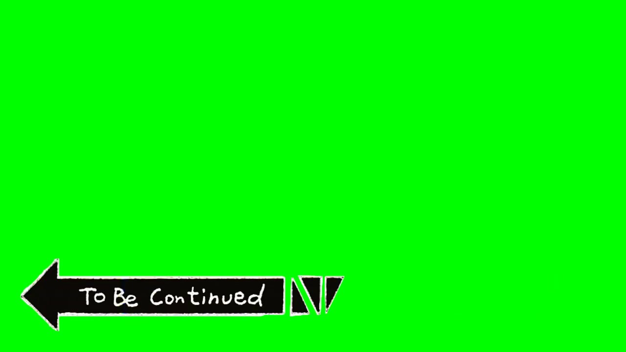 Template To Be Continued YouTube