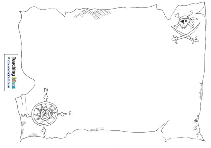 Talk Like A Pirate Day Design A Treasure Map – SupplyMe