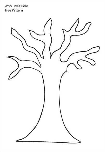 Tree Trunk Printable – Be A Fun Mum