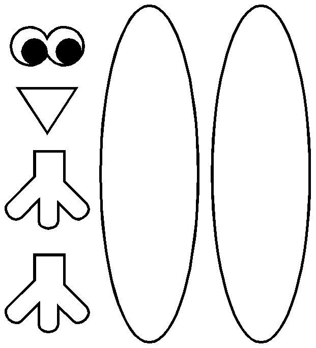 Turkey Body Template | merrychristmaswishes.info