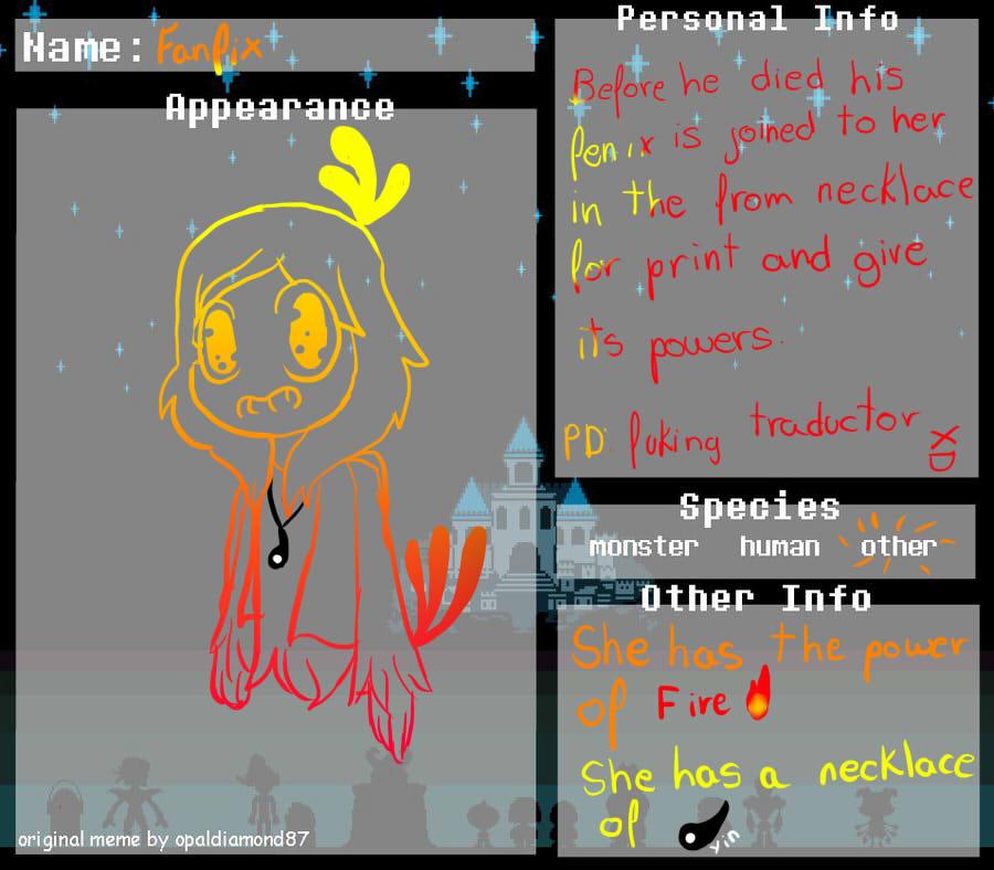 Undertale Oc Template By Geek by Shukyshooter on DeviantArt