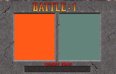 Mortal Kombat VERSUS SCREEN TEMPLATE by Baby Foxy The Fox on