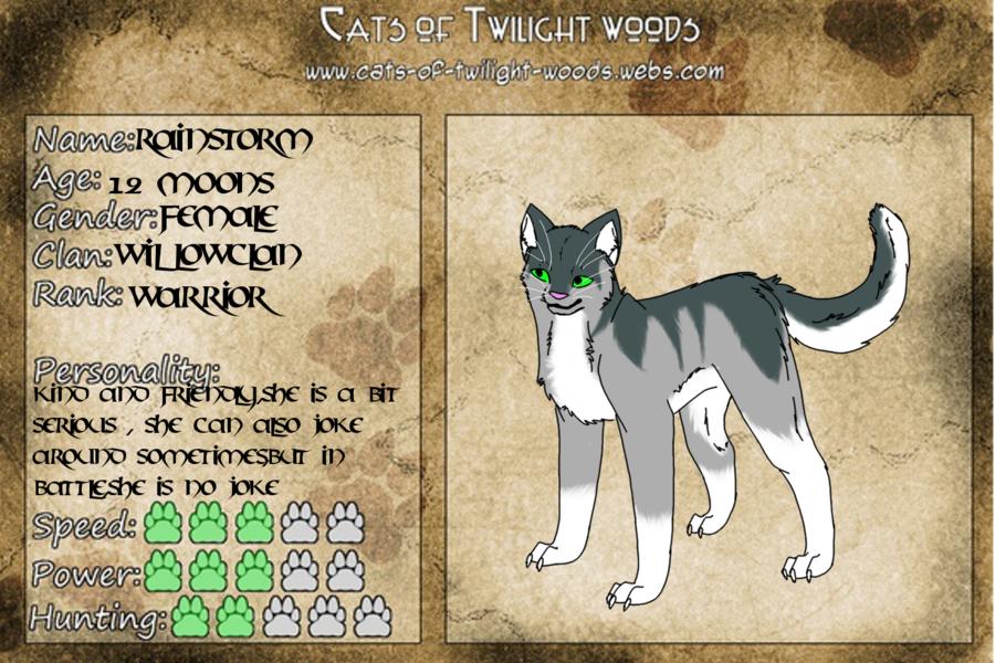 Rainstorm Template [Warrior Cats RP] by Blackwolf Hikari on DeviantArt