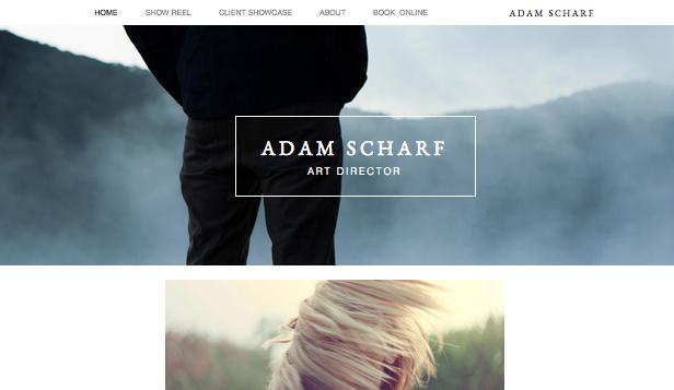 Portfolio & CV Website Templates | Wix 2