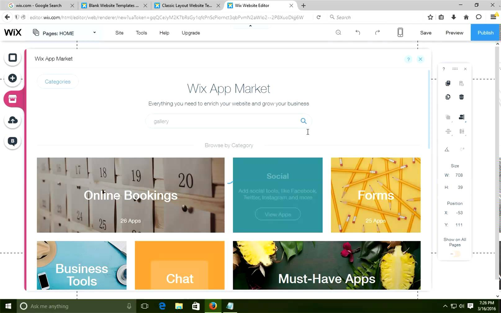 How to change Wix templete YouTube