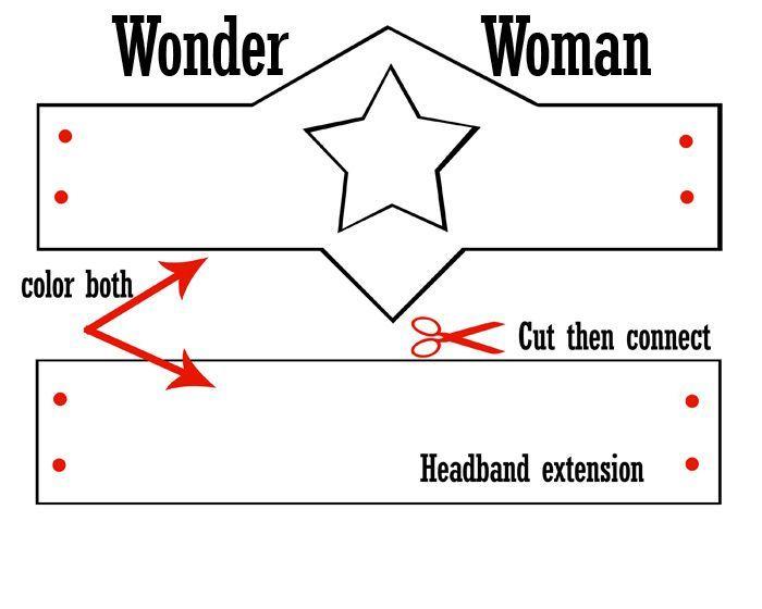 wonder woman crown template Google Search | Patterns | Pinterest