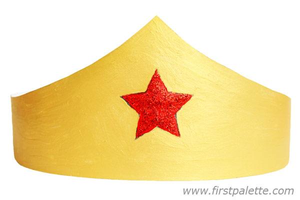 Superhero Crown or Tiara Craft | Kids' Crafts | FirstPalette.com