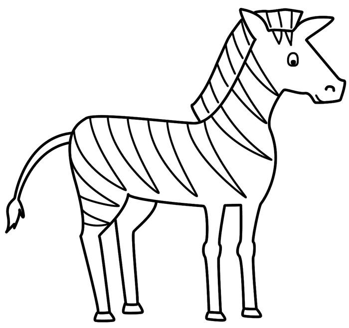 Zebra Paper Craft