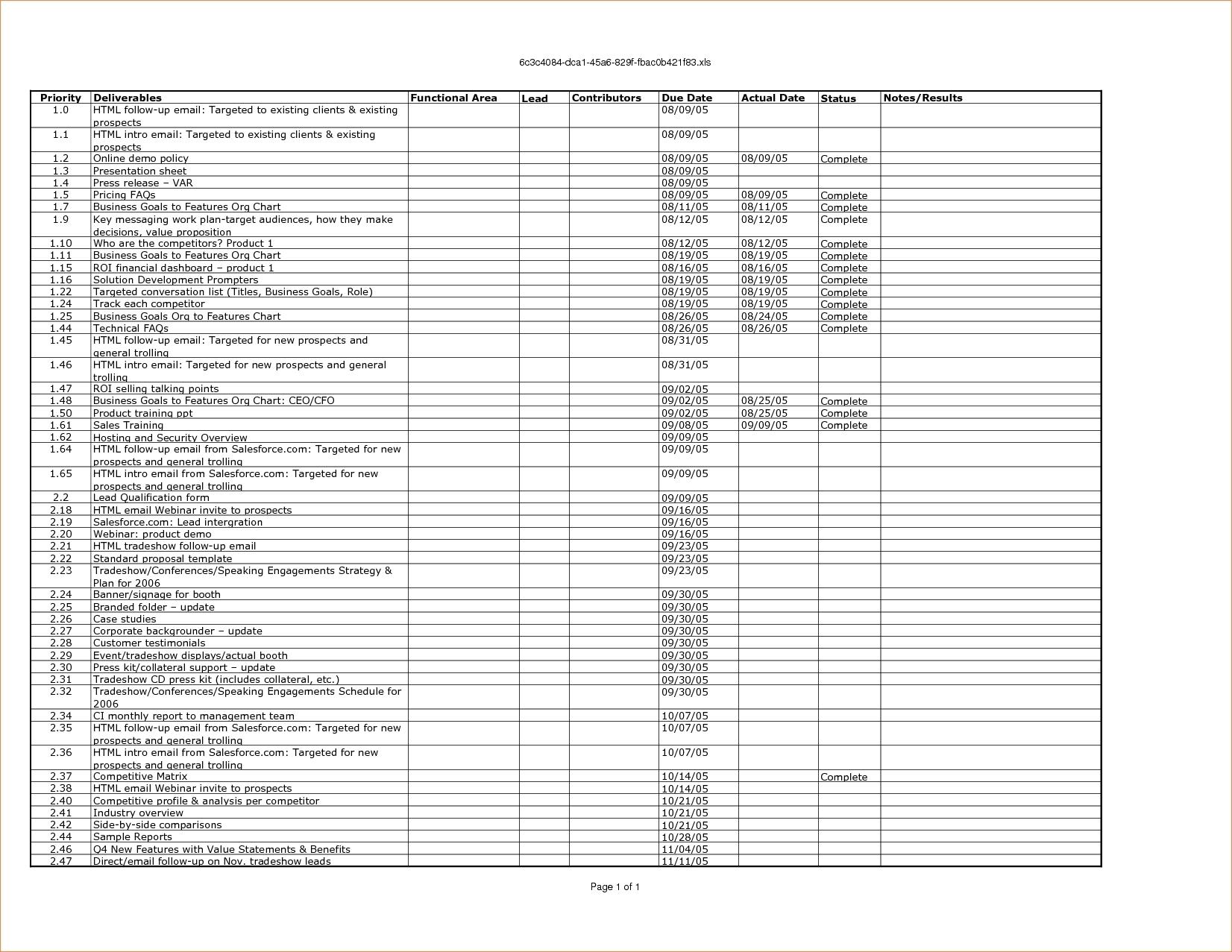100 Day Plan Template | aesthetecurator.com