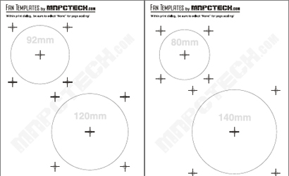 120mm mounting holes stencil | [H]ard|Forum
