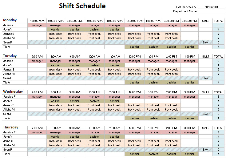 4 3, Ten Hour, Rotating Shift Pattern| 24/7 Shift Coverage