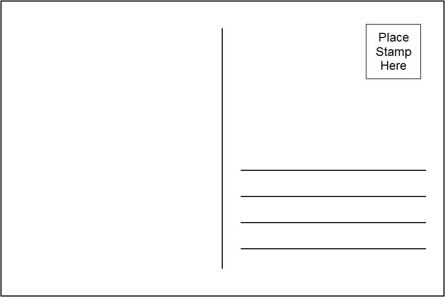 4 X 6 Postcard Template | merrychristmaswishes info