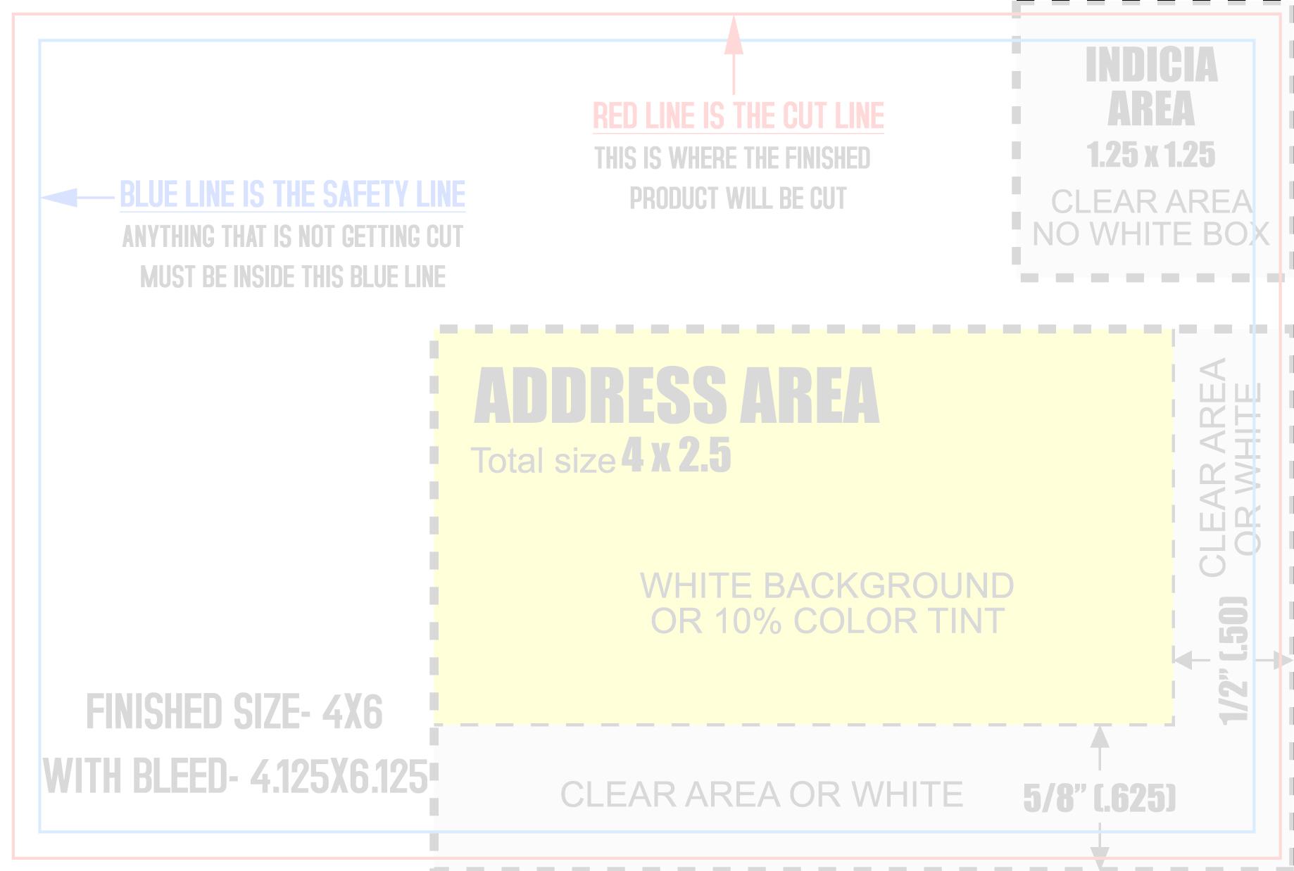 4×6 Mailing Mesmerizing Postcard Template Psd | melanoma2010.com