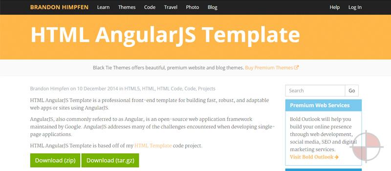 15+ AngularJS Website Templates & Themes | Free & Premium Templates