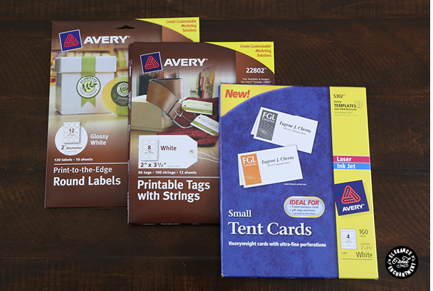 Free Avery® Templates Place Cards, 6 per sheet | Crafts