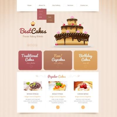 22+ Best Bakery Website Templates