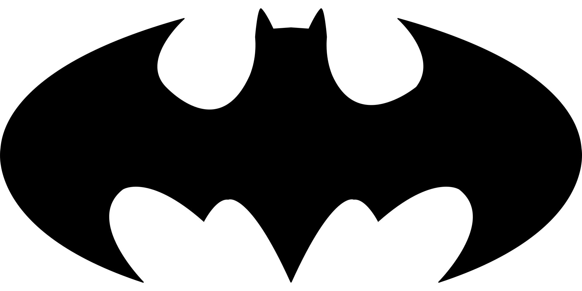 Batman Bat Sign Template | Free Printable Papercraft Templates
