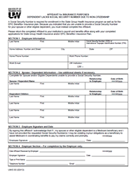 Benefit Enrollment Form Template | direnisteyiz3.org