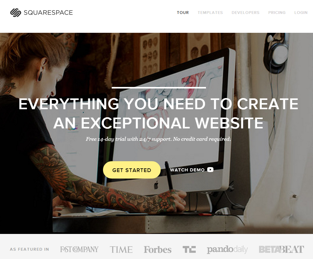Squarespace Review (2014) The best Squarespace Templates
