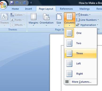 how to create tri fold brochure in word Akba.katadhin.co