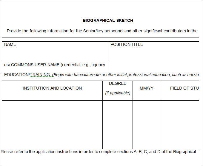 25+ Biography Templates DOC, PDF, Excel | Free & Premium Templates